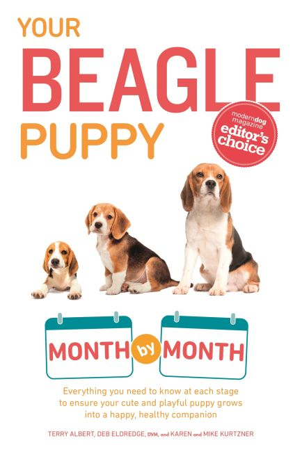 Paperback cover of Your Beagle Puppy Month by Month