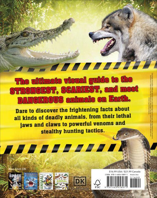 Hardback cover of Nature's Deadliest Creatures Visual Encyclopedia
