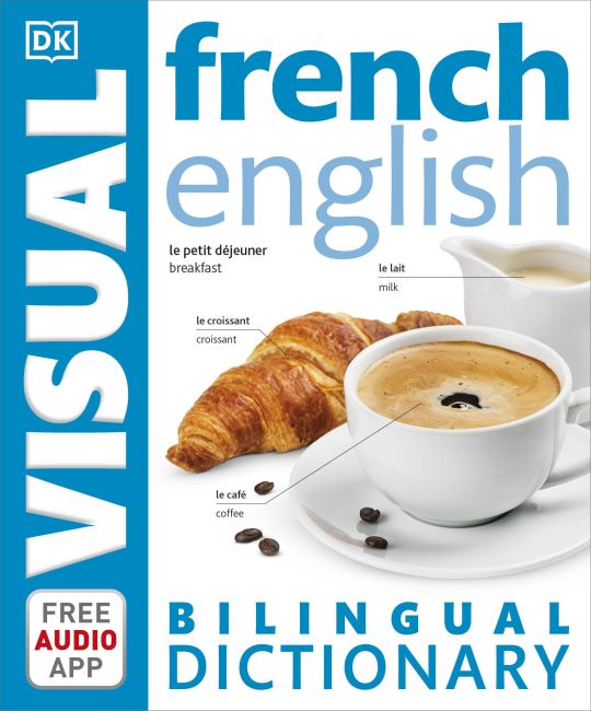 Paperback cover of French English Bilingual Visual Dictionary