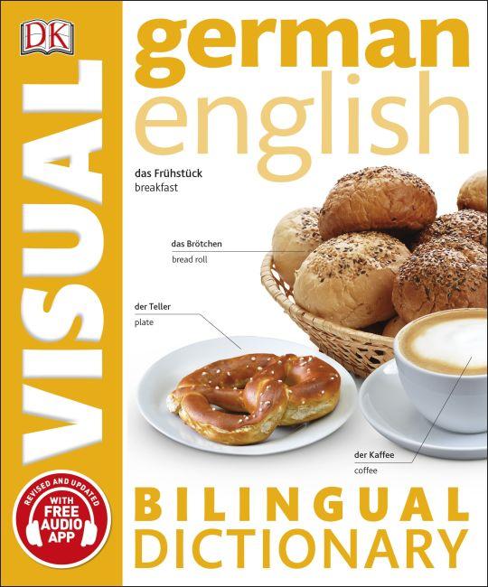 Paperback cover of German English Bilingual Visual Dictionary