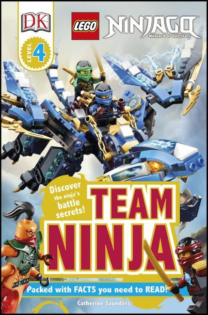 eBook cover of DK Readers L4: LEGO NINJAGO: Team Ninja