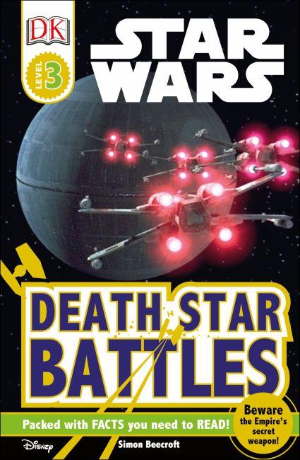 Paperback cover of DK Readers L3: Star Wars: Death Star Battles