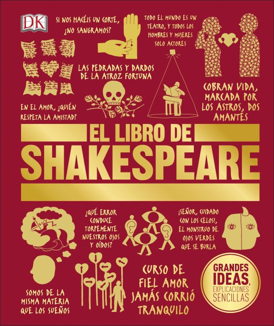 Hardback cover of El Libro de Shakespeare