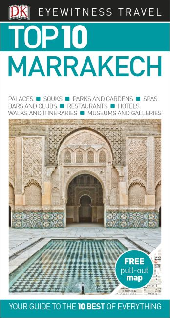 Paperback cover of DK Eyewitness Top 10 Marrakech