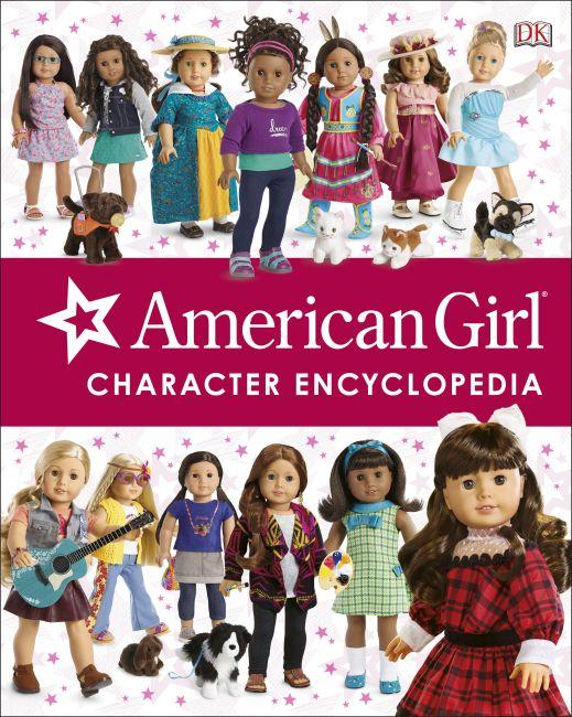 Hardback cover of American Girl Character Encyclopedia