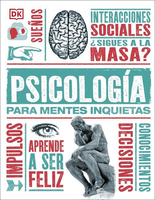 Hardback cover of Psícología para Mentes Inquietas
