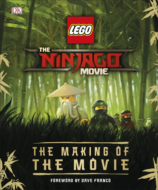 Hardback cover of The LEGO® NINJAGO® Movie™ The Making of the Movie