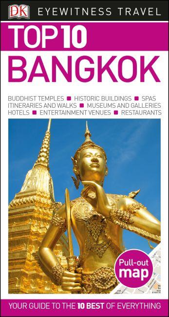 Paperback cover of DK Eyewitness Top 10 Bangkok