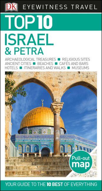 Paperback cover of DK Eyewitness Top 10 Israel and Petra