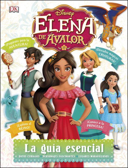 Hardback cover of Disney Elena de Avalor La guia esencial