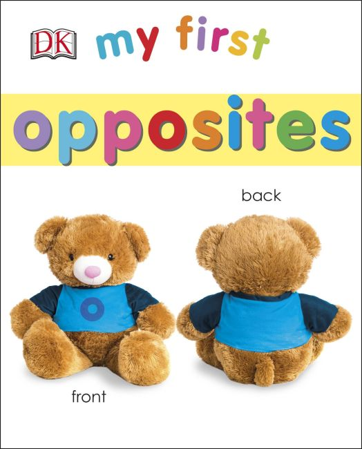 Board book cover of My First Opposites