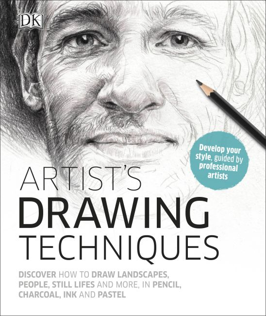 Hardback cover of Artist's Drawing Techniques