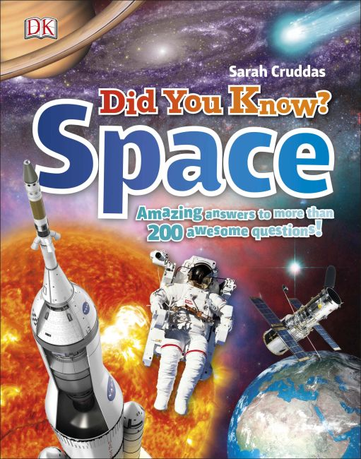 Hardback cover of Did You Know? Space
