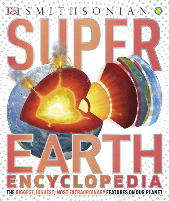 Hardback cover of Super Earth Encyclopedia