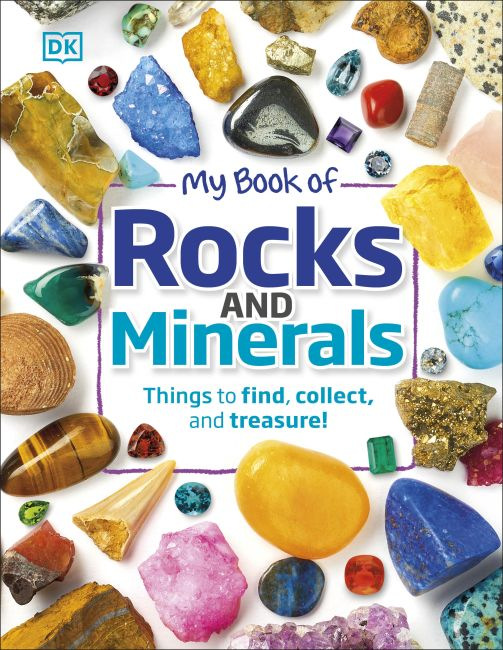 Hardback cover of My Book of Rocks and Minerals