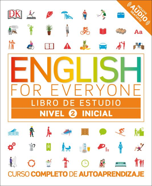 Flexibound cover of English for Everyone: Nivel 2: Inicial, Libro de Estudio