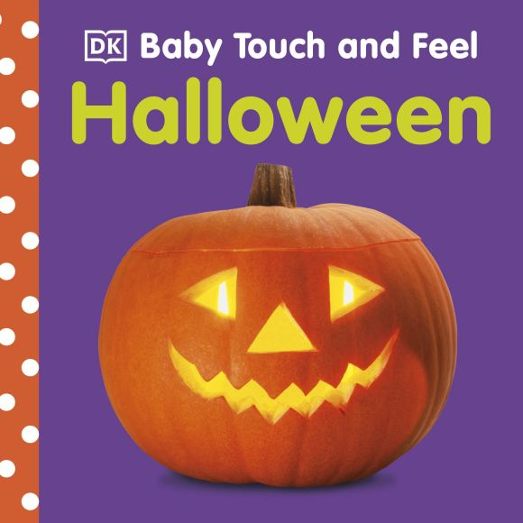 Board book cover of Baby Touch and Feel: Halloween