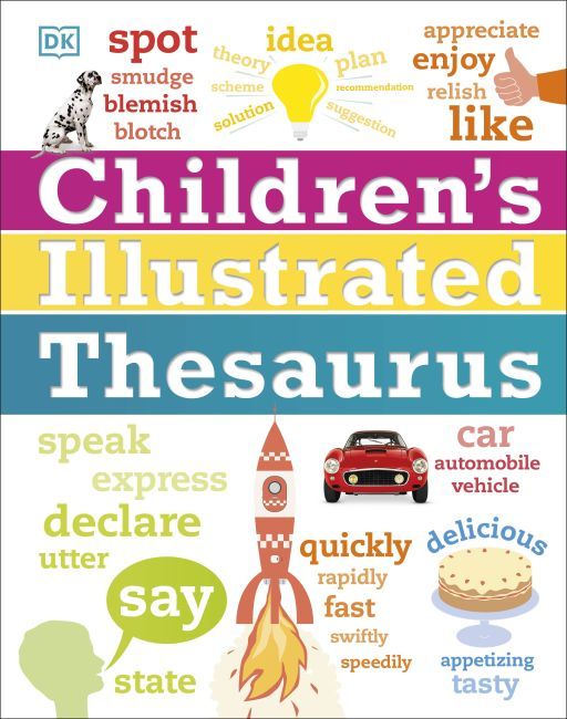Hardback cover of Children's Illustrated Thesaurus
