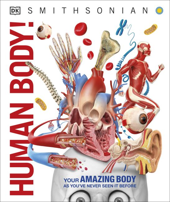 Hardback cover of Human Body!