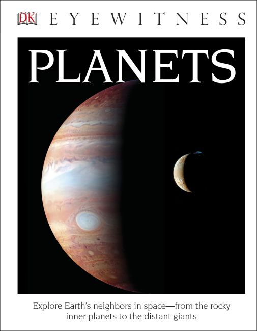 Hardback cover of DK Eyewitness Books: Planets