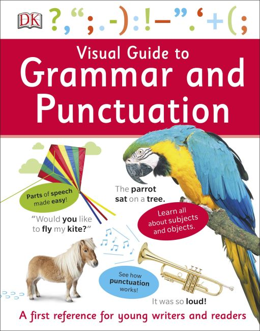 Hardback cover of Visual Guide to Grammar and Punctuation