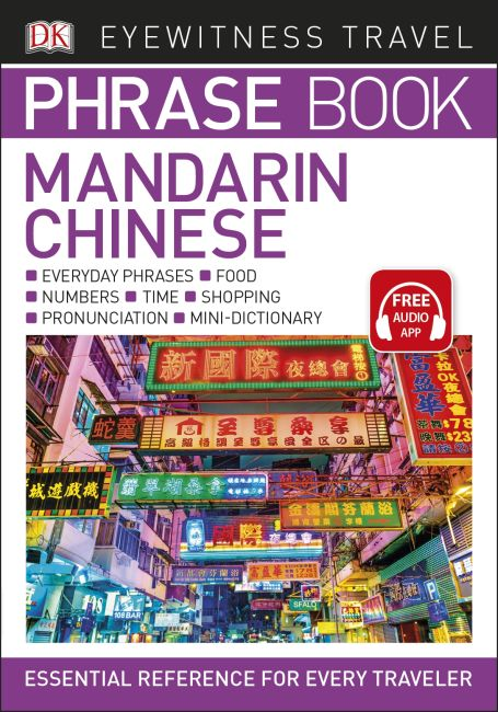 Paperback cover of Eyewitness Travel Phrase Book Mandarin Chinese