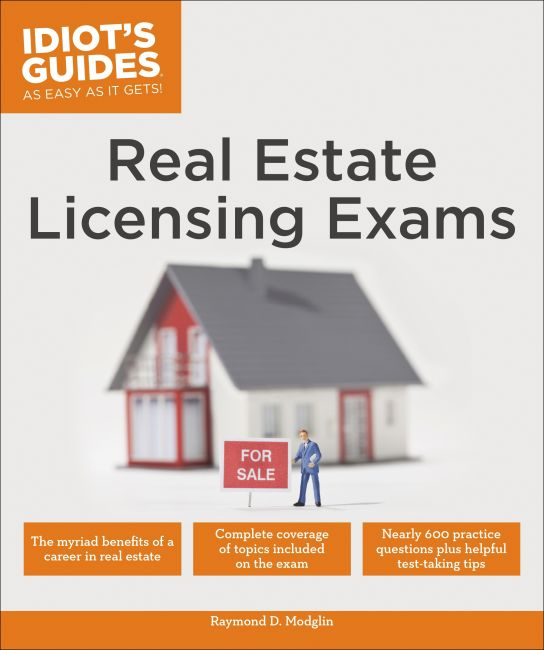 Paperback cover of Real Estate Licensing Exams
