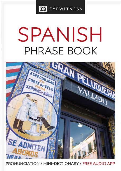 Paperback cover of Eyewitness Travel Phrase Book Spanish