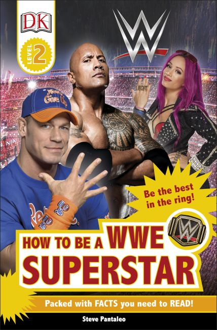 Paperback cover of DK Readers L2: How to be a WWE Superstar