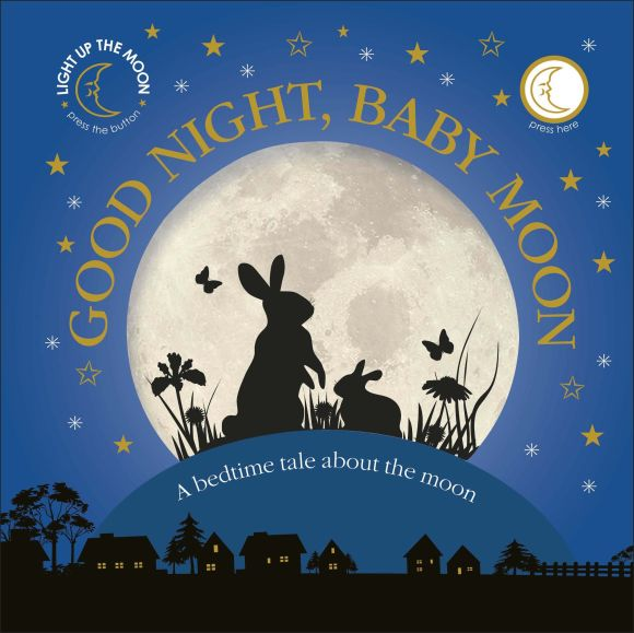 Board book cover of Good Night, Baby Moon