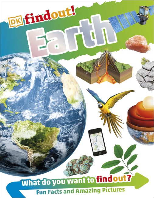 Paperback cover of DKfindout! Earth