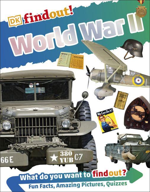 Paperback cover of DKfindout! World War II