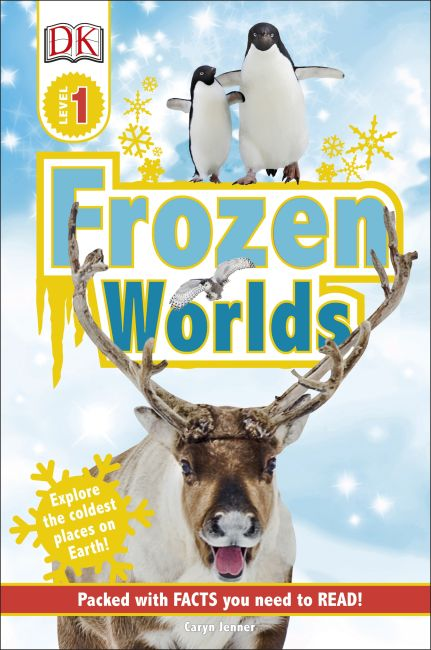 Hardback cover of DK Readers L1 Frozen Worlds