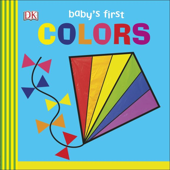 Board book cover of Baby's First Colors