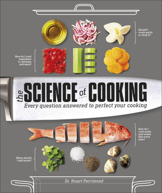 Hardback cover of The Science of Cooking