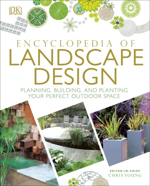 Hardback cover of Encyclopedia of Landscape Design