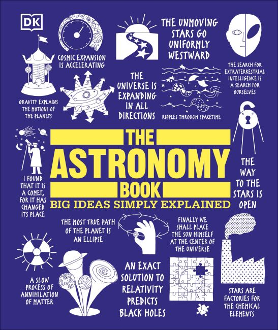 Hardback cover of The Astronomy Book