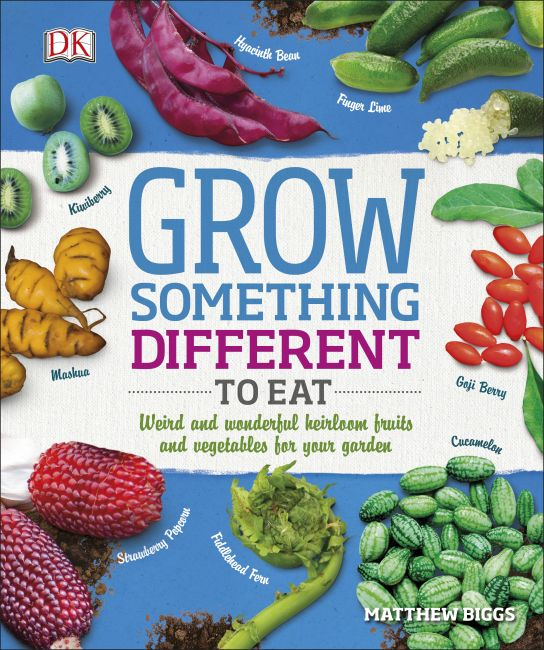 Paperback cover of Grow Something Different to Eat