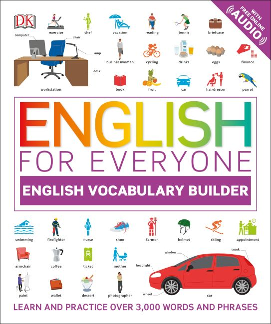 Paperback cover of English for Everyone: English Vocabulary Builder