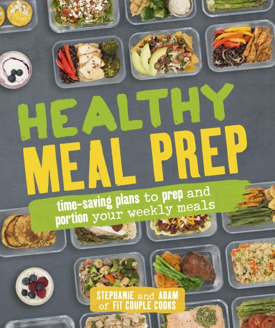 Paperback cover of Healthy Meal Prep