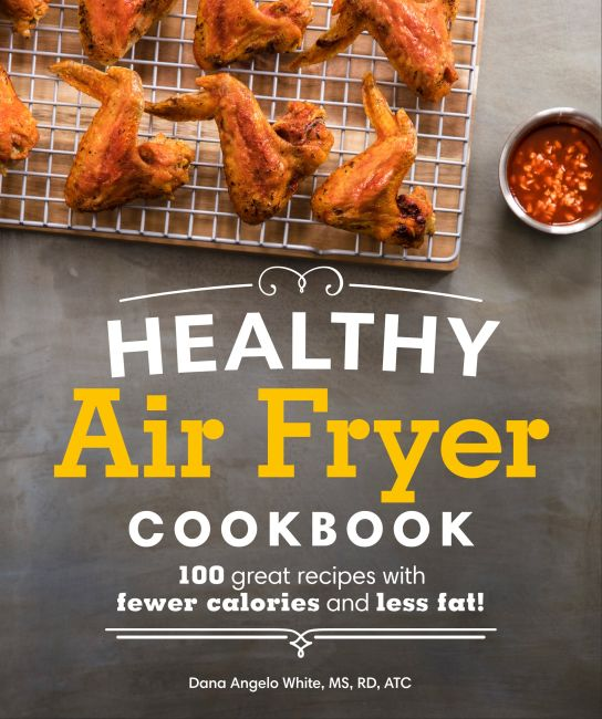 Paperback cover of Healthy Air Fryer Cookbook