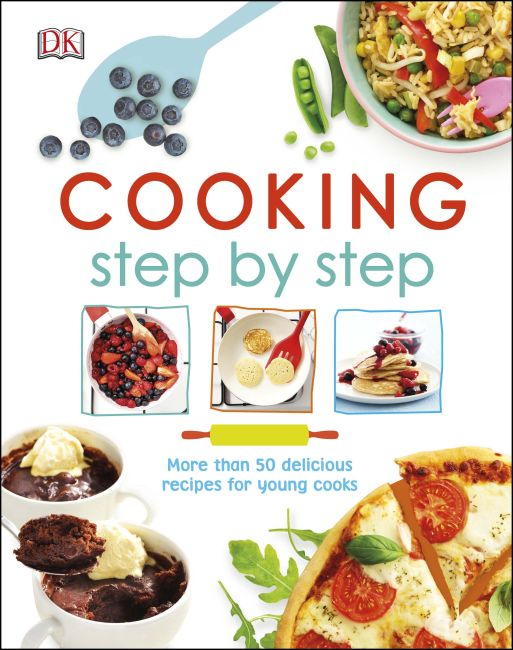 Hardback cover of Cooking Step by Step