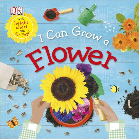 Board book cover of I Can Grow a Flower