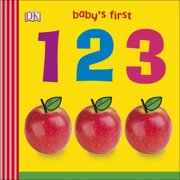 Board book cover of Baby's First 123