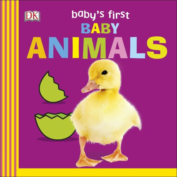 Board book cover of Baby's First Baby Animals