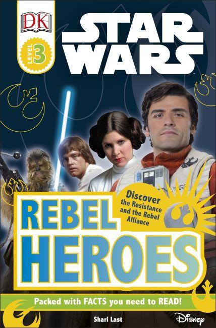 eBook cover of DK Readers L3: Star Wars: Rebel Heroes