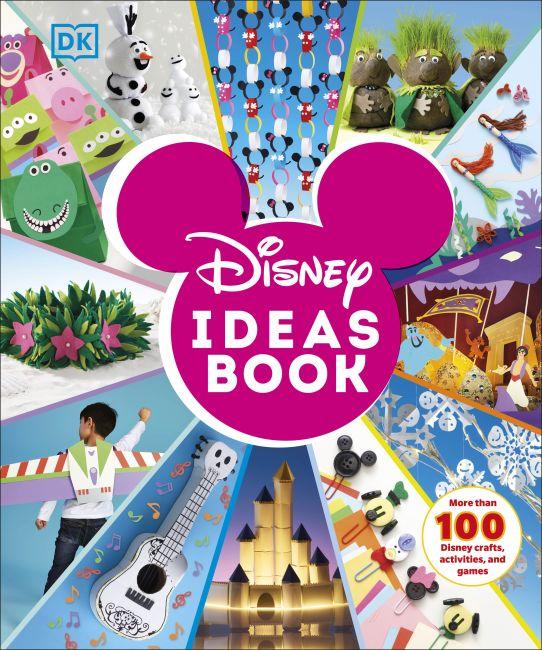 Hardback cover of Disney Ideas Book