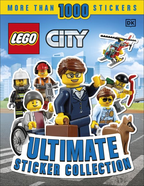 Paperback cover of Ultimate Sticker Collection: LEGO CITY