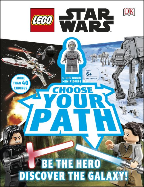 Hardback cover of LEGO Star Wars: Choose Your Path