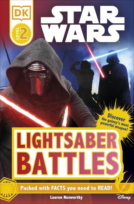 Paperback cover of DK Readers L2: Star Wars™: Lightsaber Battles
